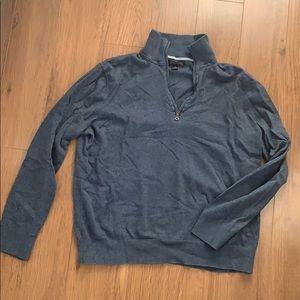 Men's banana republic pima cotton/cashmere sweater